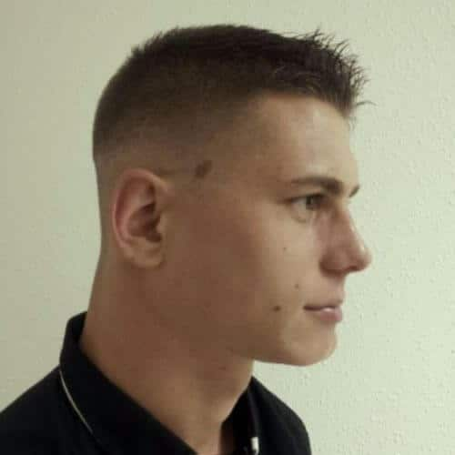 low fade buzz cuts