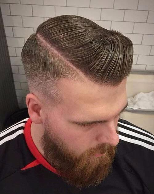 lumberjack style military haircut