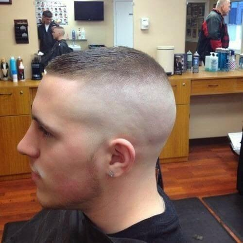recon style military haircut