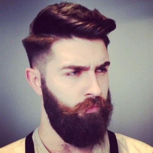 simple hipster haircut for men with red hair