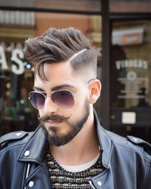 spiky hipster haircut