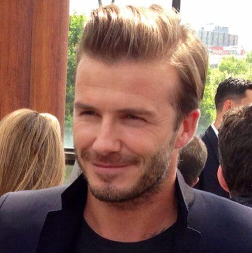 david beckham hair top hair