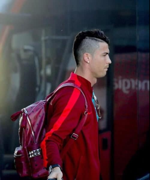 cristiano ronaldo haircut mohawk