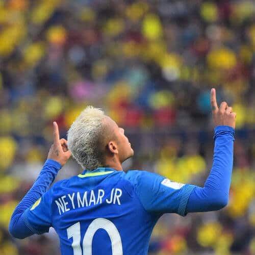 neymar haircut platinum mohawk