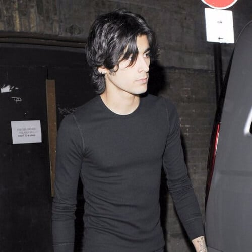 zayn malik haircut long hair