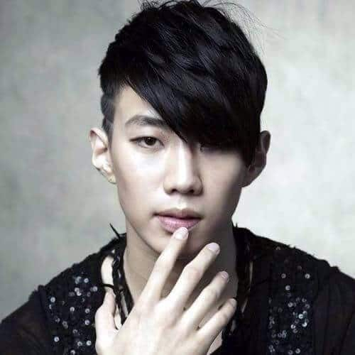 Emo Undercut Korean Hairstyles