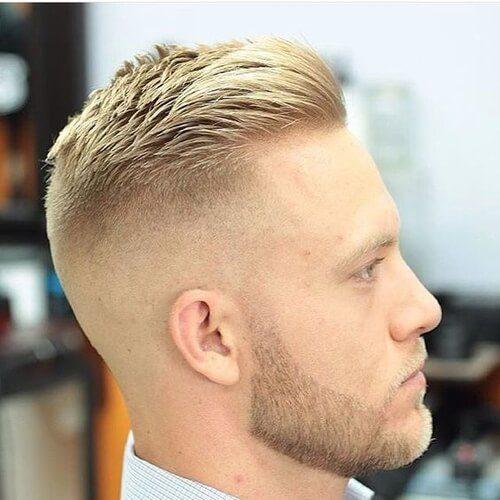 blonde man with beard