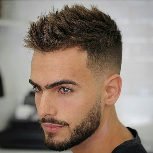 High and Tight spiky and beautiful eyebrows