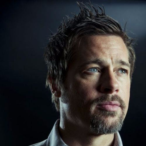 Brad Pitt Haircut Ideas faux hawk