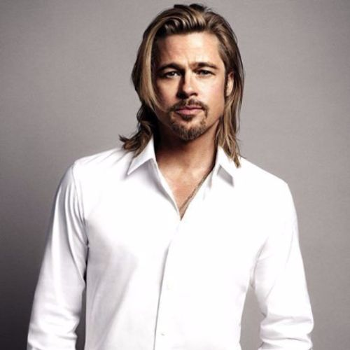 Brad Pitt Haircut Ideas Medium Long