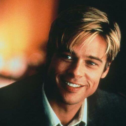 Brad Pitt Haircut Ideas Blonde Joe Black