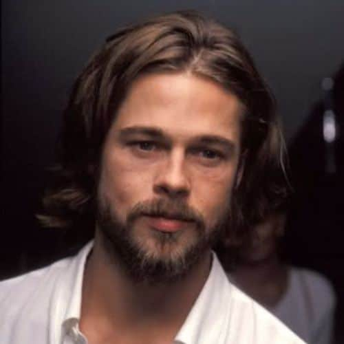 Brad Pitt Haircut Ideas Natural and Voluminous