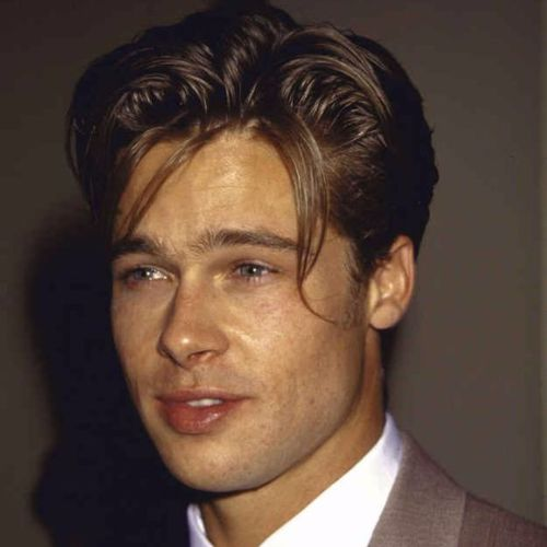Brad Pitt Haircut Ideas Tendrils