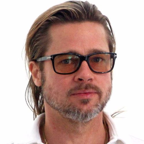 Brad Pitt Haircut Ideas The Silver Fox