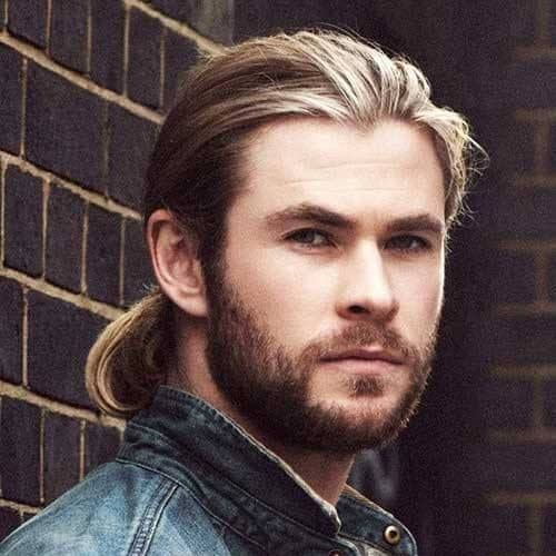 chris hemsworth long hairstyles for men