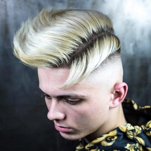 medium mohawk haircut