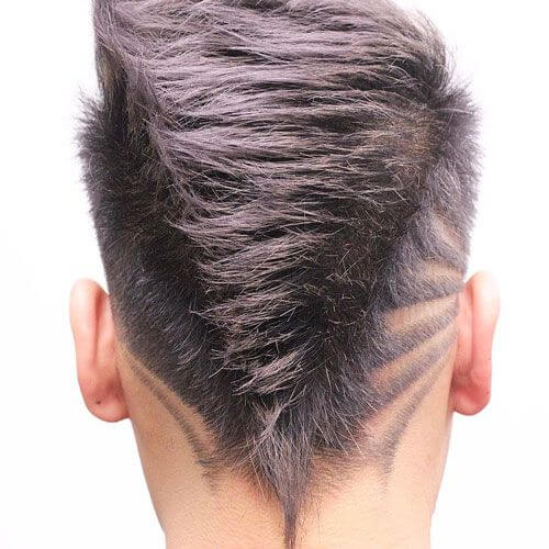 shape mohawk haircut