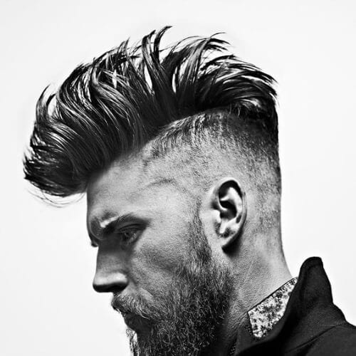 textured mohawk haircut