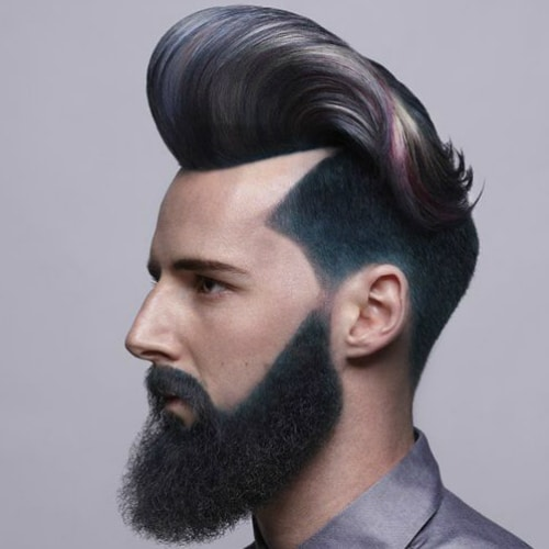 Pompadour Haircut Length : 40 fashionable medium length hairstyles for men menhairstylist.com