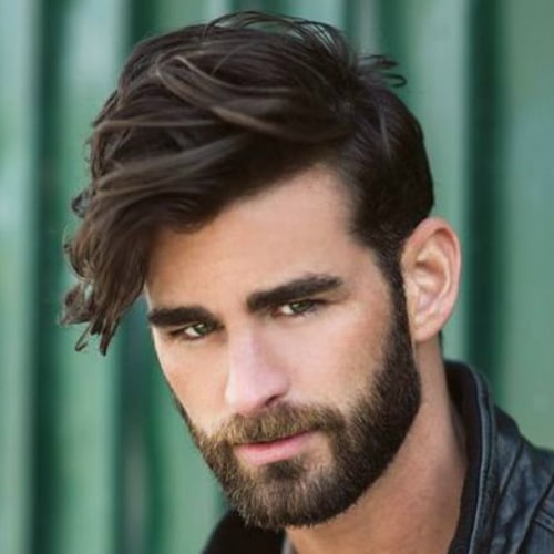 40 Medium Length Hairstyles For Men To Rock The Fashionable Look Menhairstylist Com