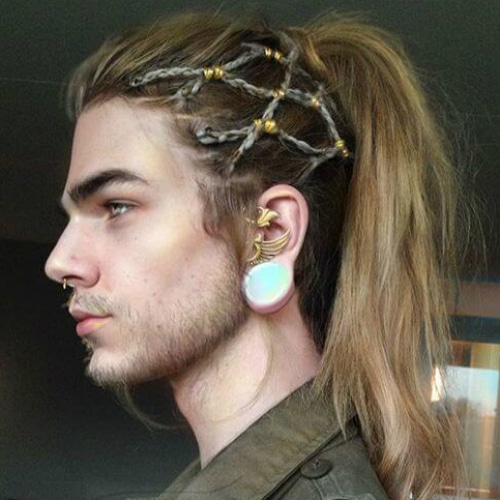 45 Rebellious Long Hairstyles For Men Menhairstylist Men