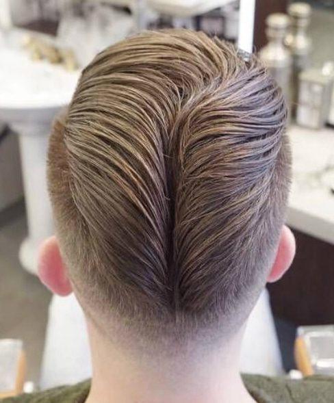 50s age slick back haircut