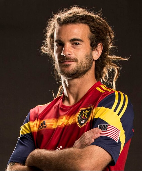 Kyle Beckerman real salt lake soccer haircuts