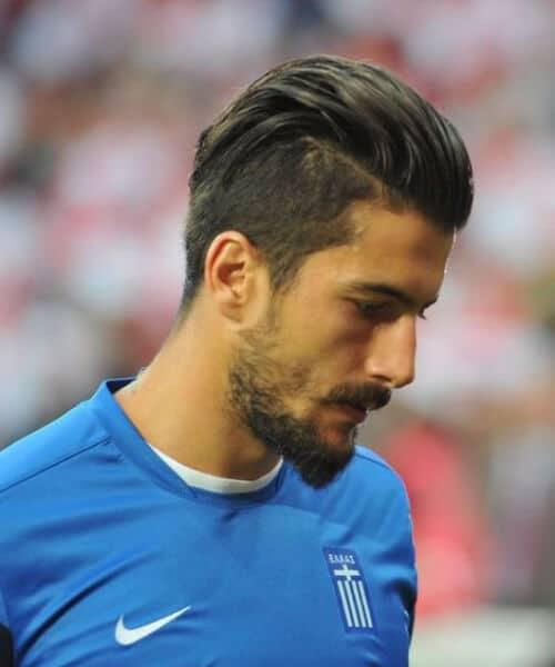 Panagiotis Kone granada cf soccer haircuts