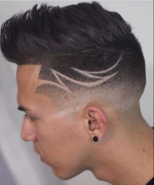 Shape Up Quiff Low Fade Hair Designs mens hairstyles