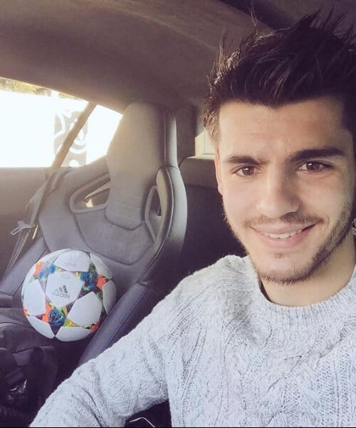 alvaro morata real madrid soccer haircuts