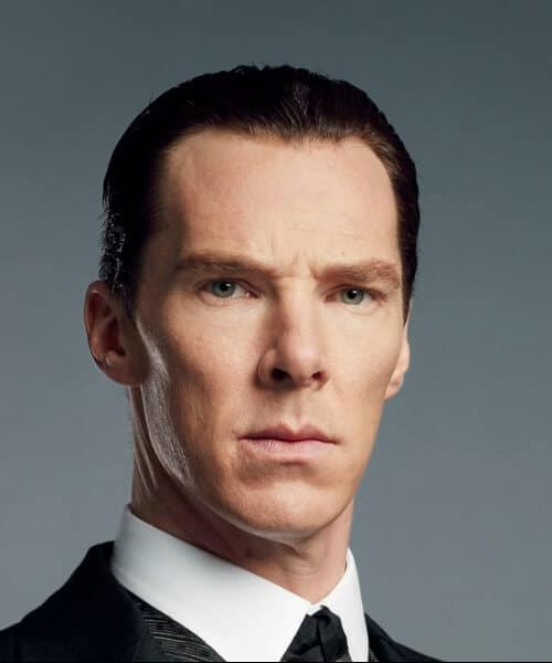 benedict cumberbatch slick back haircut