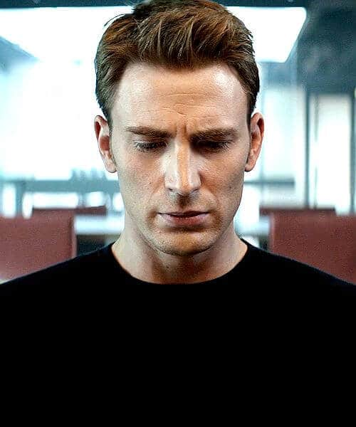 classic side part captain america mens hairstyles