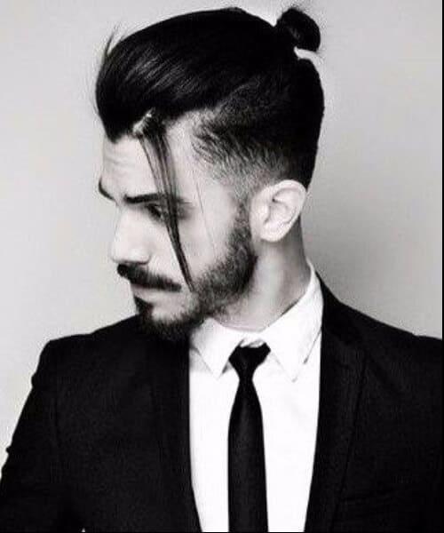 classy top knot men