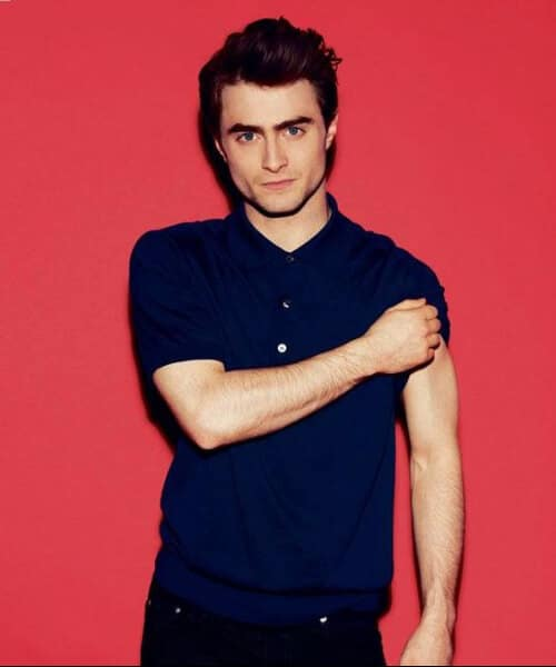 daniel radcliffe slick back haircut
