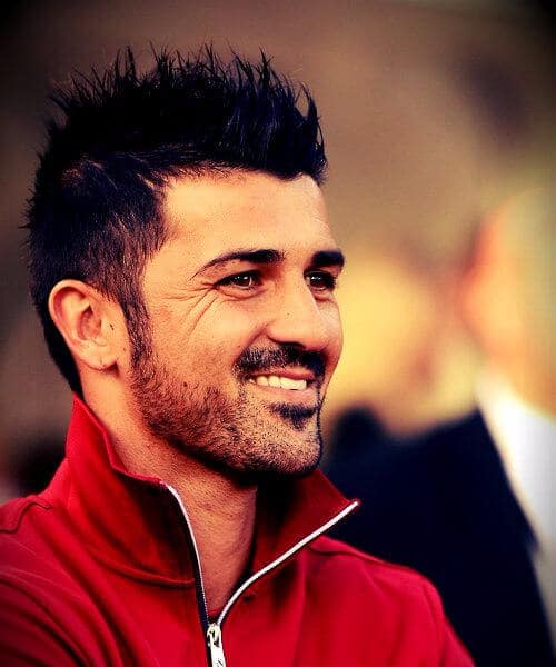 david villa new york city fc soccer haircuts