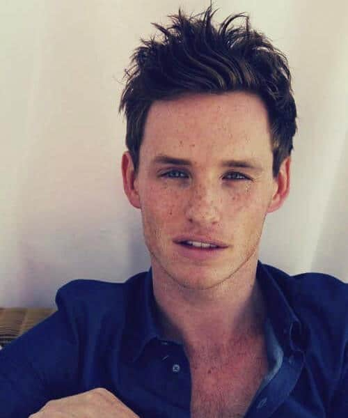 eddie redmayne mens hairstyles