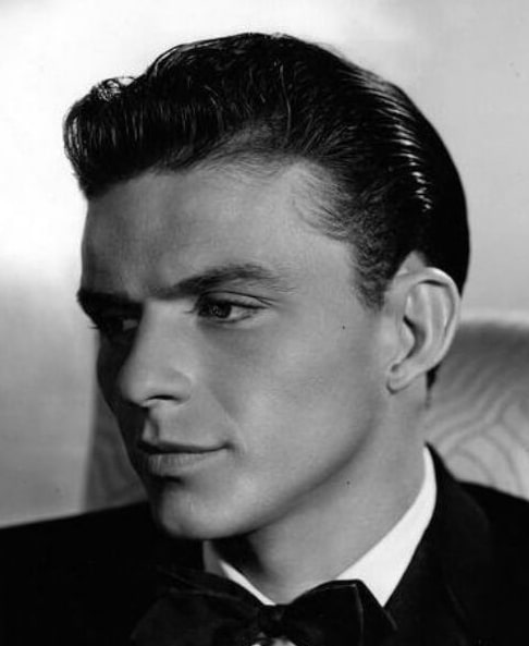 frank sinatra old slick back haircut