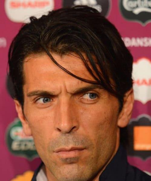 gianluigi buffon juventus soccer haircuts
