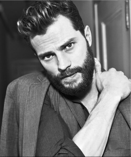 jamie dornan widows peak mens hairstyles