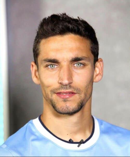 jesus navas manchester city soccer haircuts