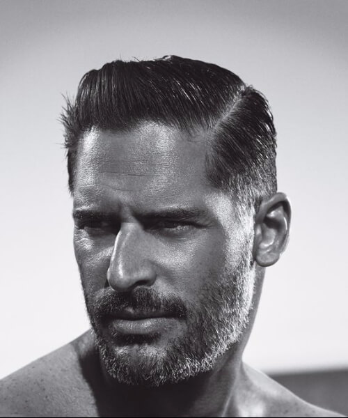joe manganiello slick back haircut
