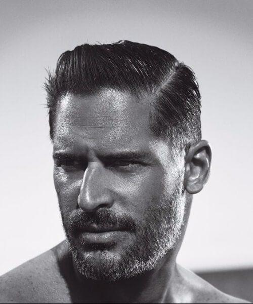 joe manganiello slick back haircut