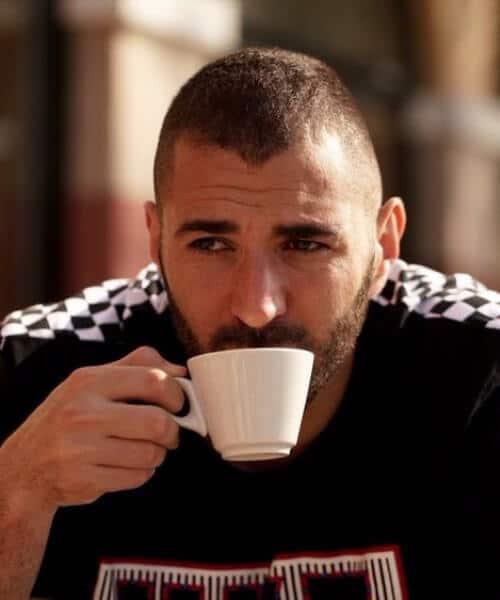 karim benzema real madrid soccer haircuts
