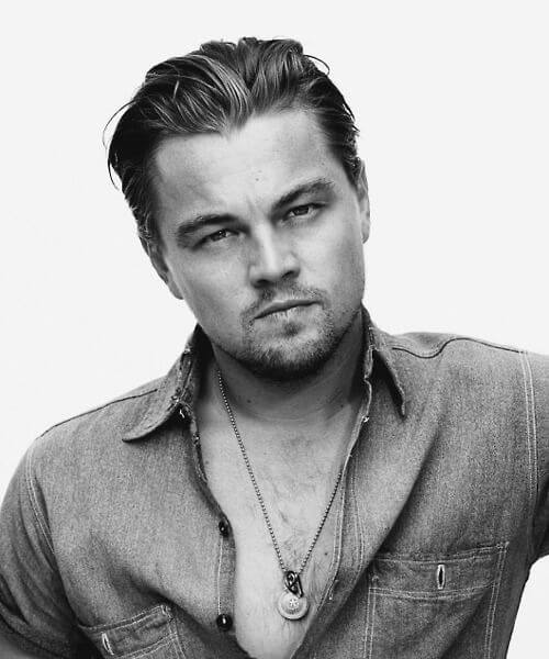 Leonardo Dicaprio Slick Back Haircut