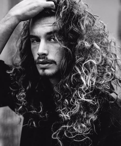 long and curly mens hairstyles