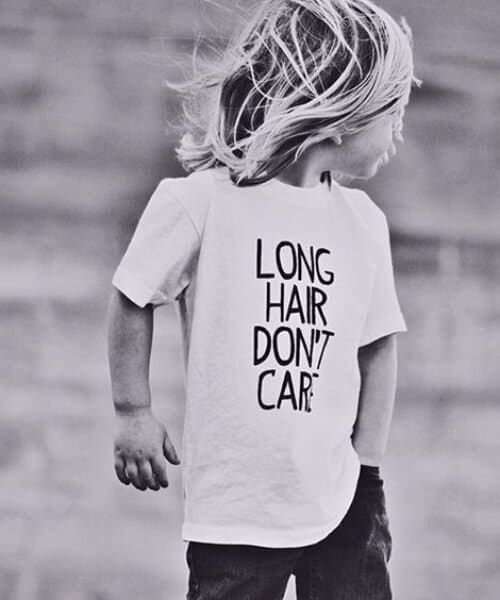 long hair boys haircut