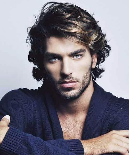 medium curly mens hairstyles