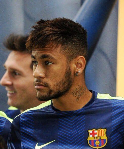 neymar barcelona soccer haircuts