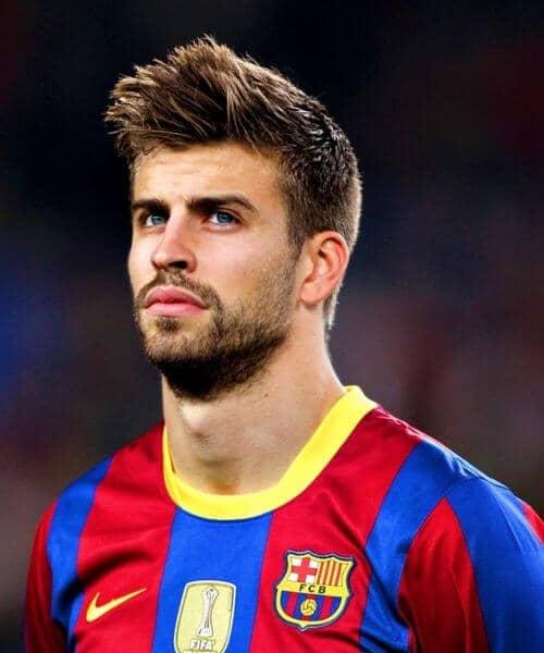 pique barcelona soccer haircuts