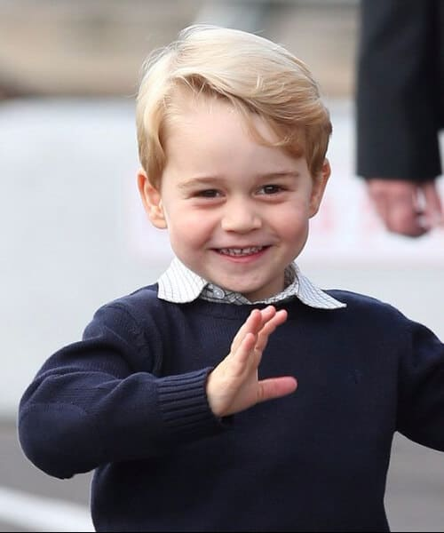 prince george boys haircut